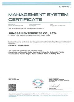 ISO 45001 (DNV.GL)